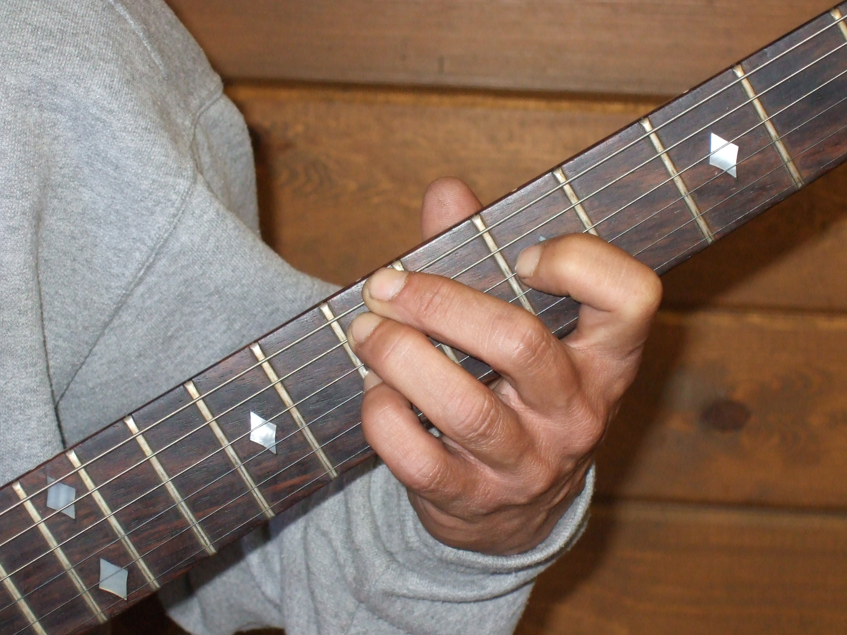 An indepth look at D chord guitar patterns including different types of D chords resulting progressions and advanced voicings