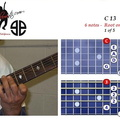 C13 - 6 notes - 6th fret
